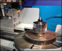 Gear Cutting with High Precision